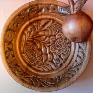 «Яблочко на тарелочке»
