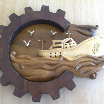 Эмблема пароходства