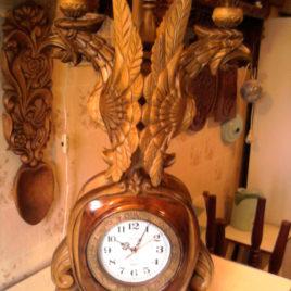 Подсвечник с часами «ОРЁЛ»