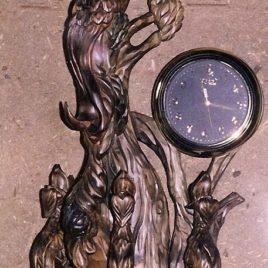 Часы «Жар-птица с птенцами»